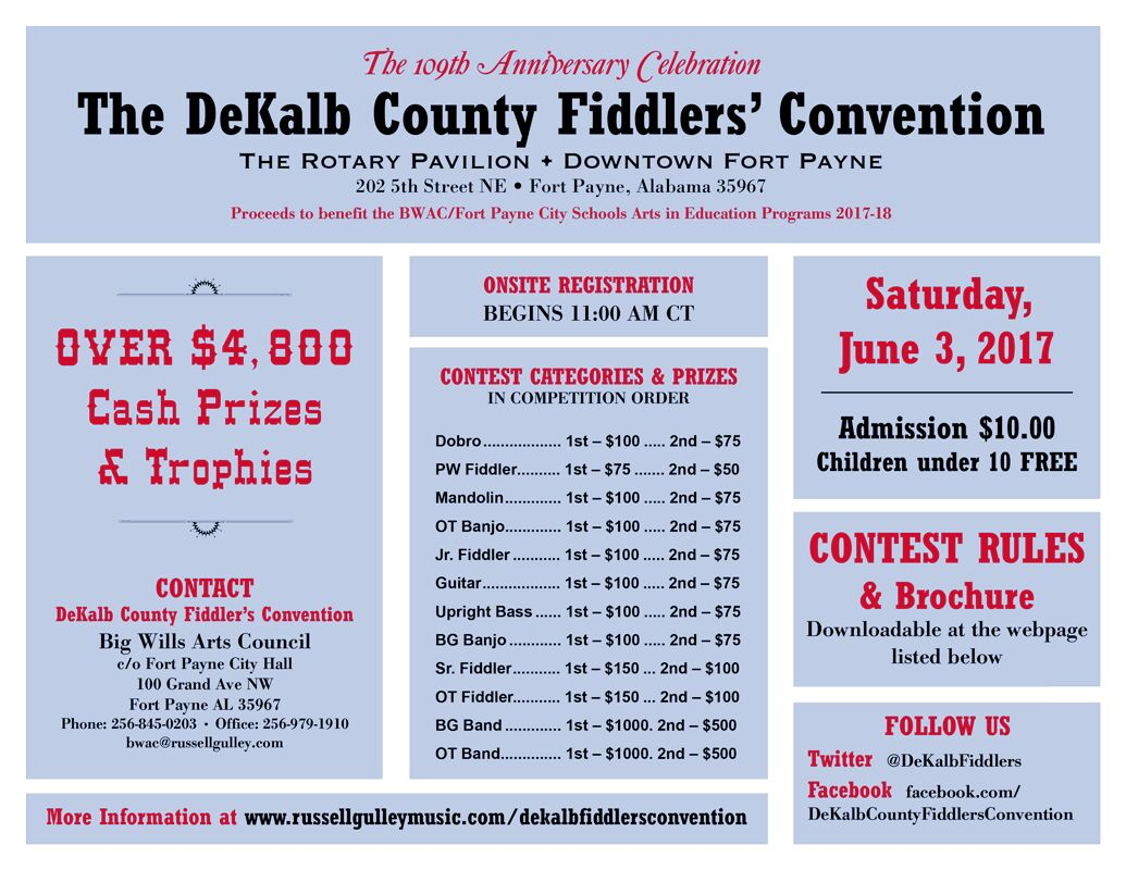 DeKalb County Fiddlers Convention